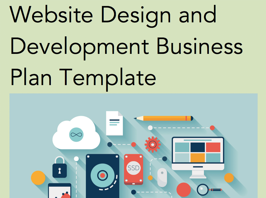 Website Design Business Plan - Black Box Business Plans