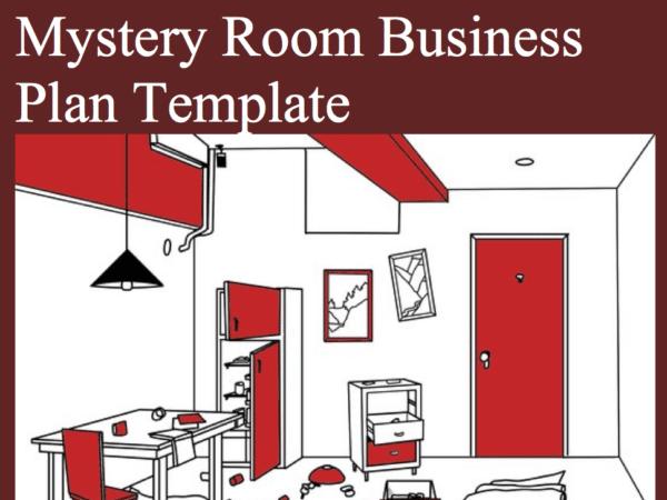 Escape room business plan template