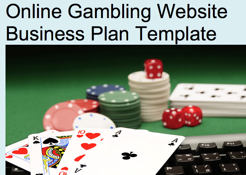Gambling business plan enzo casino bonus code