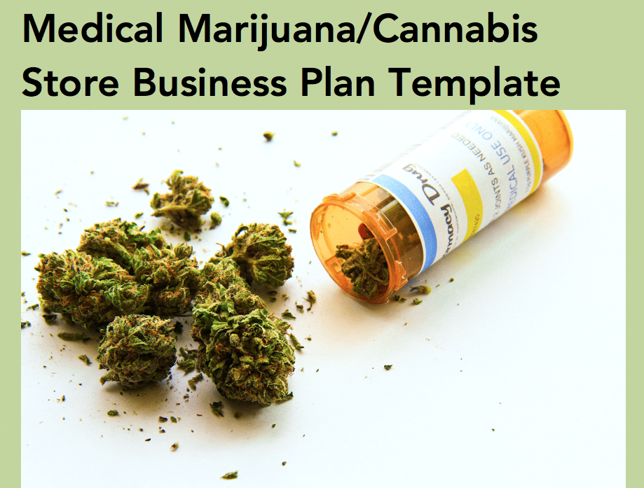 Medical Marijuana Dispensary Business Plan Template Black Box - Healthcare business plan template