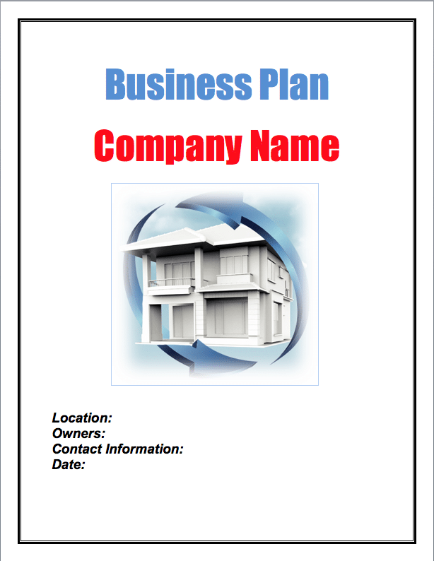 Real Estate House Flipping Business Plan Sample Pages - Black Box ...