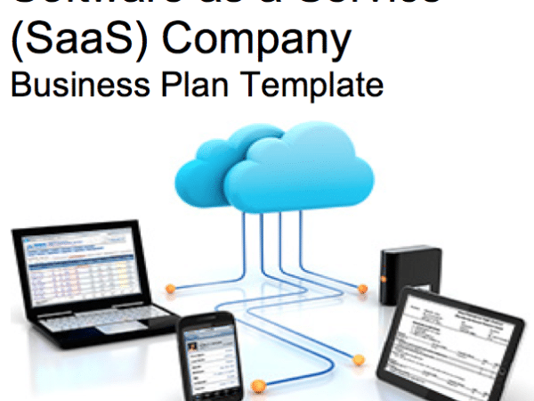Sample Template Pages Black Box Business Plans - Saas business plan template