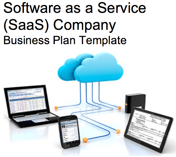 Software as a service saas business plan template sample pages software as a service saas business plan template accmission Images