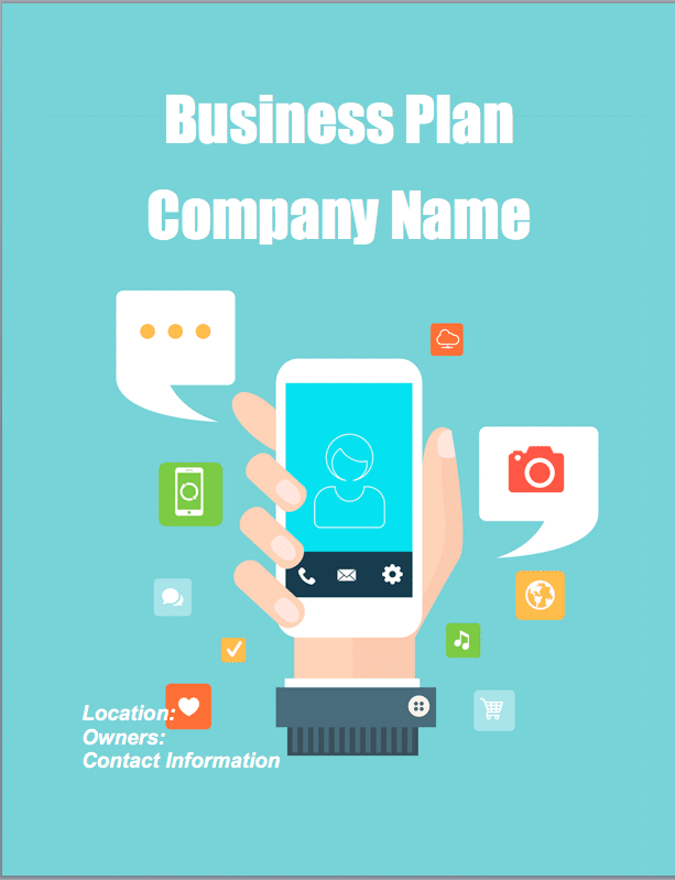 Mobile app company business plan sample pages black box business mobile app business plan mobile app business plan pronofoot35fo Image collections
