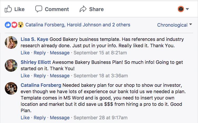 Bakery Business Plan Sample