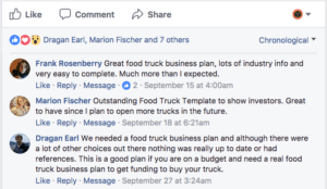 Food Truck Example Business Plan