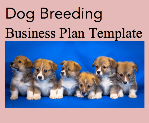 Dog breeding business plan template black box business plans wajeb Image collections