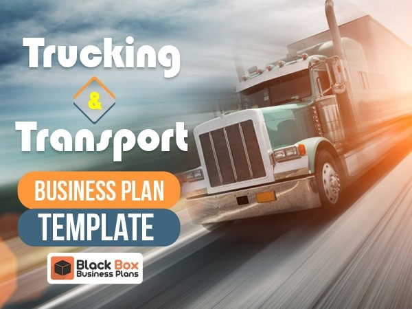 Trucking Business Plan Template