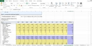 Trucking excel worksheet