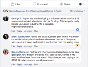 SaaS software as a service business plan