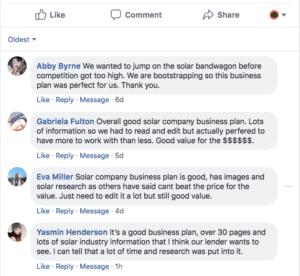 Solar Company Business Plan Template
